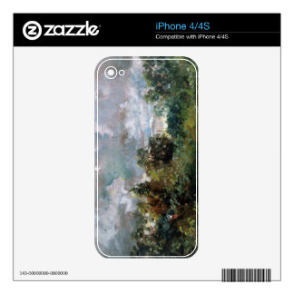 Study of Sky and Trees (oil on canvas) Skin For The iPhone 4S
