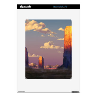 Study of Sunsets And Emotions iPad Skin