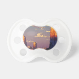 Study of Sunsets And Emotions Pacifier