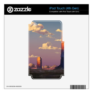 Study of Sunsets And Emotions Skins For iPod Touch 4G