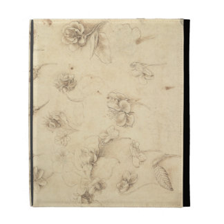 Study of the Flowers of Grass-like Plants (Briza M iPad Case