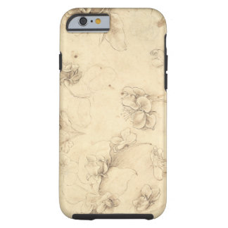 Study of the Flowers of Grass-like Plants (Briza M Tough iPhone 6 Case