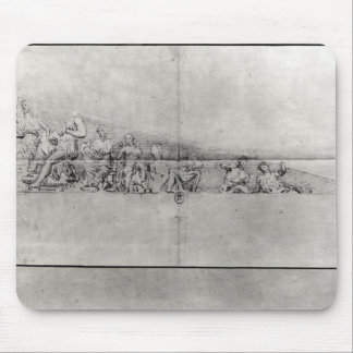 Study of the frieze from a pediment mouse pad