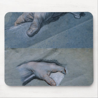 Study of the Hands of a Man Mouse Pad