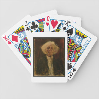 Study of the Head of a Blind Man (oil on canvas) Bicycle Playing Cards