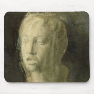 Study of the Head of a Young Singer Mouse Pad