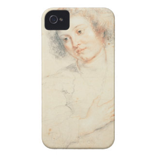 Study of the Head of St. Apollonia (drawing) iPhone 4 Case