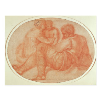 Study of the Holy Family Postcard