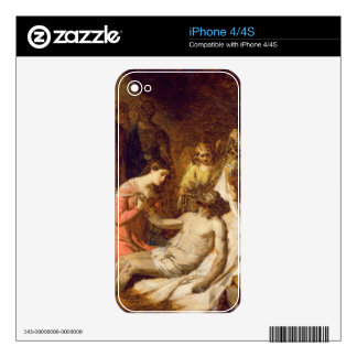Study of the Lamentation on the Dead Christ (oil o iPhone 4S Decal