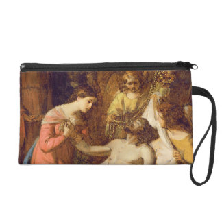 Study of the Lamentation on the Dead Christ (oil o Wristlet