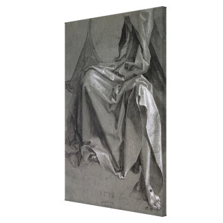 Study of the robes of Christ, 1508 Canvas Print