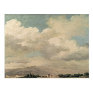 Study of the Sky at Quirinal Postcard