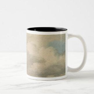 Study of the Sky at Quirinal Two-Tone Coffee Mug