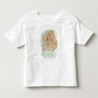 Study of the Wooden Framework with Casting Toddler T-shirt