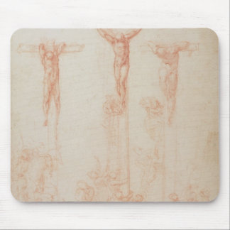 Study of Three Crosses Mouse Pad