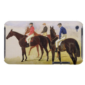 Study of Three Steeplechase Cracks: Allen McDonoug iPod Touch Case