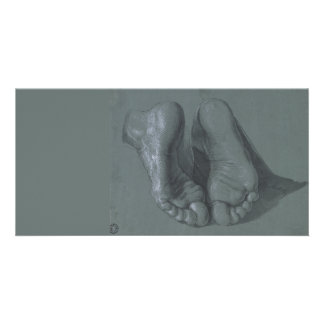 Study of Two Feet by Albrecht Durer Card