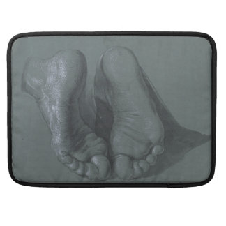 Study of Two Feet by Albrecht Durer Sleeve For MacBooks