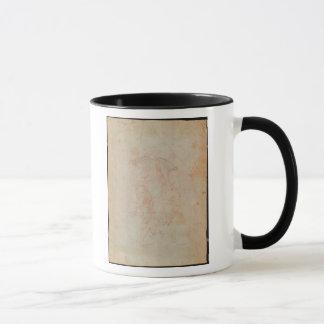 Study of two male figures mug
