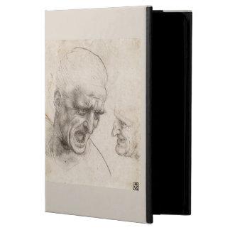 Study of Two Warriors Heads by Leonardo da Vinci iPad Air Case