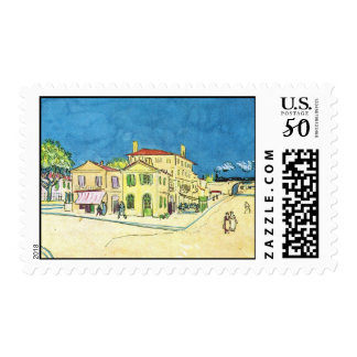 Study on Vincent's House in Arles by van Gogh Postage