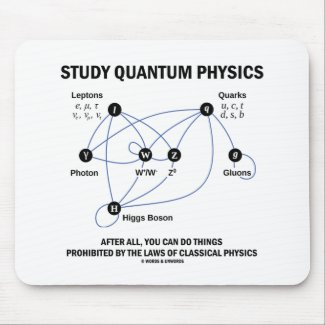 Study Quantum Physics After All You Can Do Things Mouse Pad