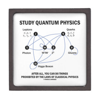 Study Quantum Physics You Can Do Things Gift Box