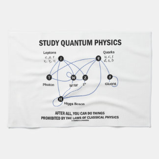 Study Quantum Physics You Can Do Things Hand Towels