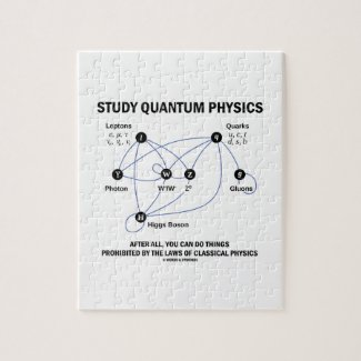 Study Quantum Physics You Can Do Things Jigsaw Puzzles