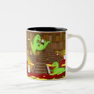 Study time Two-Tone coffee mug