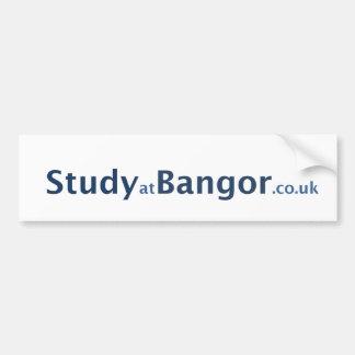 studyatBangor Pegatina Para Auto