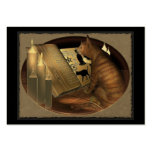 Studying Cat Lessons ATC ACEO Large Business Cards (Pack Of 100)