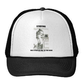 Studying Has Stripped Me To The Bone (Skeleton) Trucker Hat