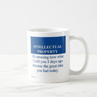 Studying Intellectual Property Law (3) Coffee Mug