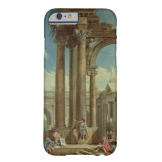 Studying Perspective among Roman Ruins iPhone 6 Case