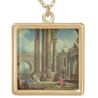 Studying Perspective among Roman Ruins Jewelry