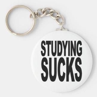 Studying Sucks Basic Round Button Keychain