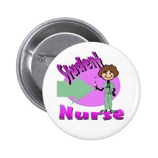 Stuedent Nurse Button