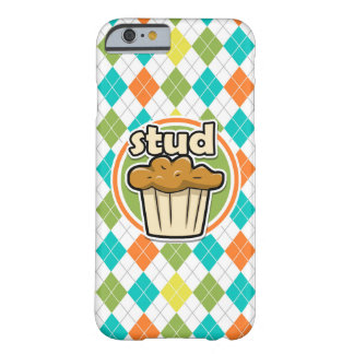 Stuf Muffin; Colorful Argyle Pattern Barely There iPhone 6 Case