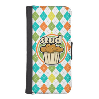 Stuf Muffin; Colorful Argyle Pattern iPhone 5 Wallet