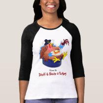 Stuff and Baste a Turkey (Wine) T-Shirt