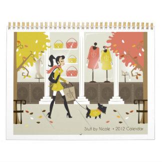 Stuff by Nicole 2012 Calendar