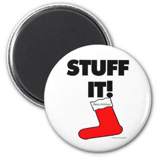 Stuff It - Happy Holidays (Light) Fridge Magnets