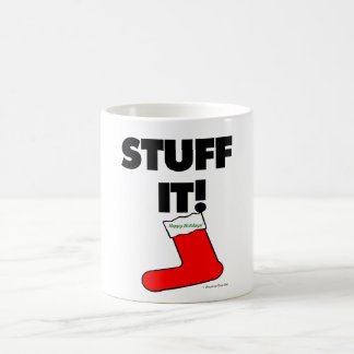 Stuff It - Happy Holidays (Light) Mug