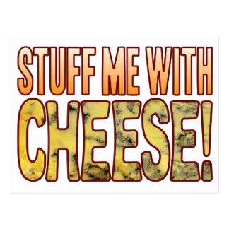 Stuff Me Blue Cheese Postcard