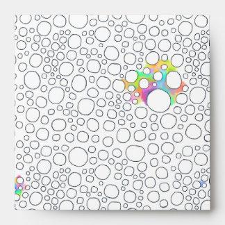 Stuff of life drawing cells circles color original envelope