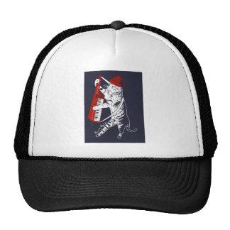 stuff on my cat - keytar trucker hat