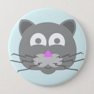 stuff on my cat - kitty cat button