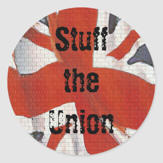 Stuff the Union Scottish Independence Sticker