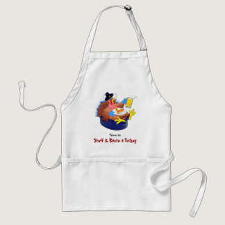Stuffed and Basted Turkey (Beer) Adult Apron